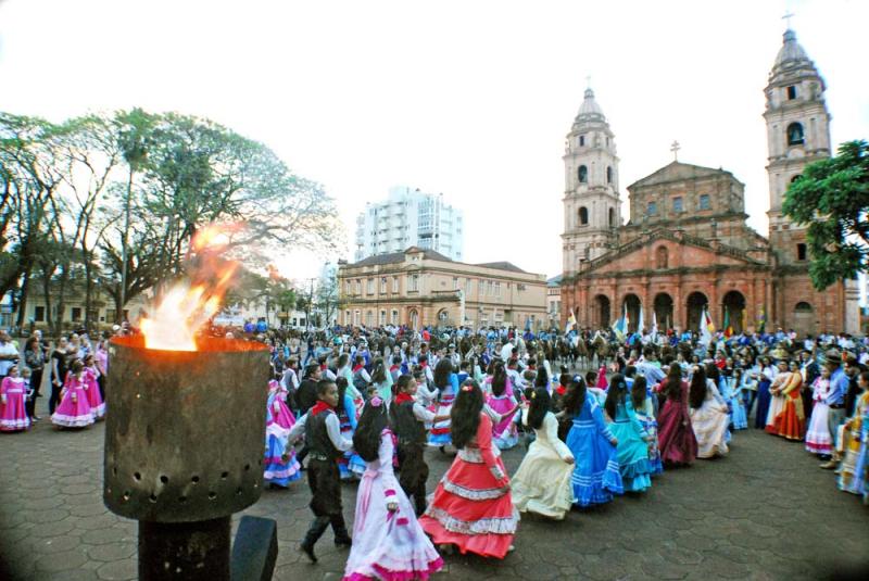 54848c91c20ed Santo Ângelo em clima de Semana Farroupilha